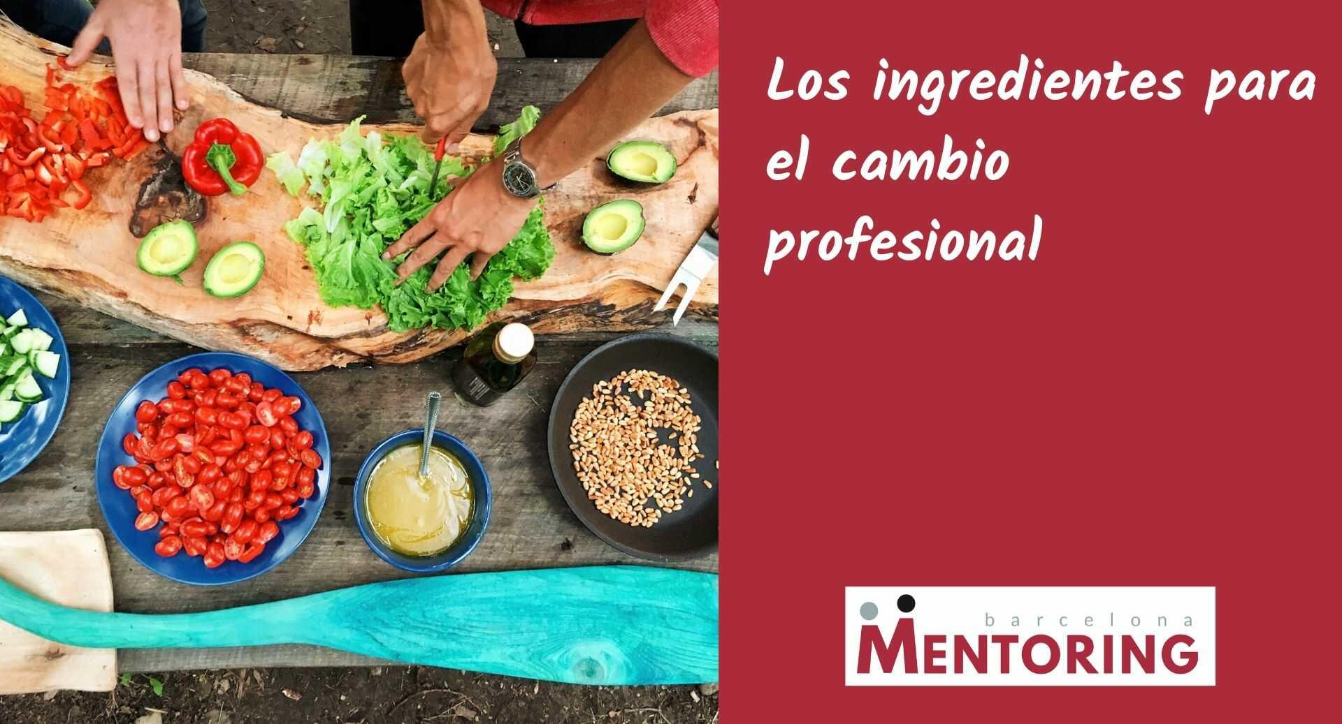 Los ingredientes para el cambio profesional
